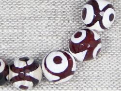 Браслет из агата с рисунком по камню от Nur