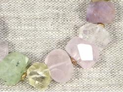 Браслет из натуральных камней грубой огранки от Victory Bijoux