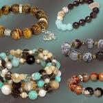 Браслет-змейка и браслет на резинке – стильные и удобные украшения